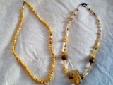 Create Your Own Amber Beaded Necklace