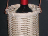 Continually Seagrass Wine, Utensil or Brush Basket