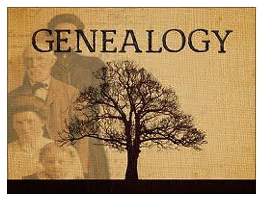Genealogy First Steps