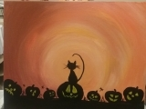 Paint & Mingle Pumpkin Patch Fall 2017