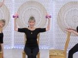 Intermediate Chair Yoga and Strength