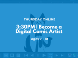 3:30PM | Become a Digital Comic Artist