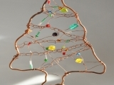 Copper and Beaded Ornaments