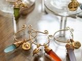 Sea Glass Wine Charm