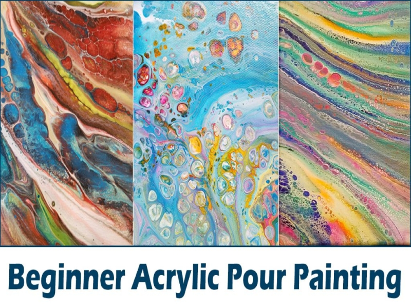 Beginner Acrylic Pour 10/5 | MSAD 52 Adult & Community Education