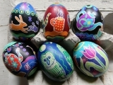 Egg Decorating with Wax Resist Dyes