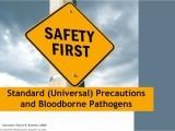 Bloodborne Pathogens Certification/Recertification 10/2
