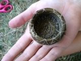 Coiled Pine Needle Baskets