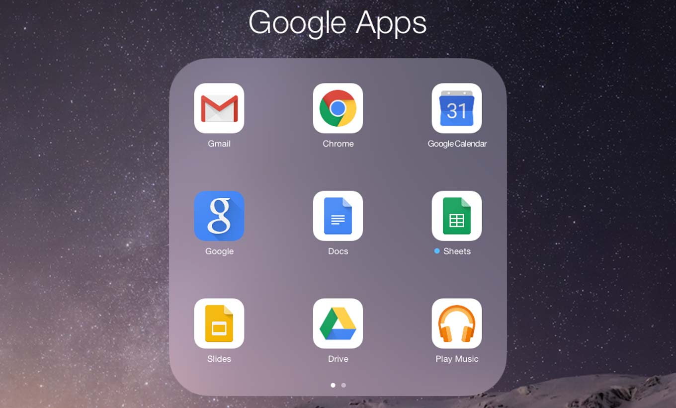 Google Apps for Business 5/6