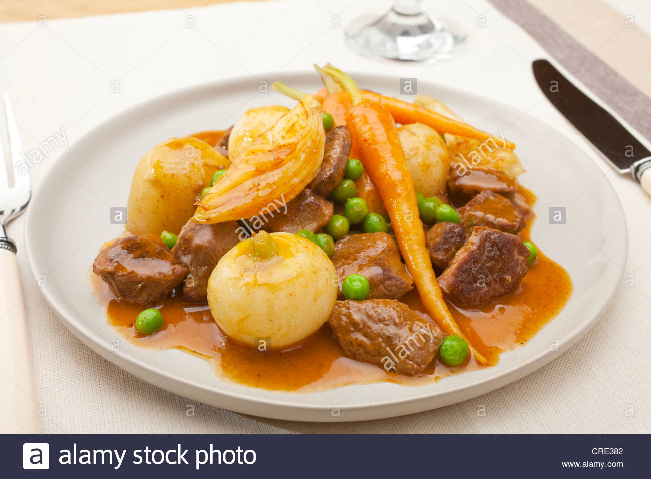 Lamb Stew with Spring Vegetables