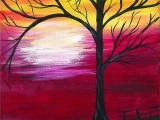 October Sky Paint and Mingle Fall 2018