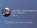 Saturday Showstoppers Sci-Fi Theatre grades 3-6th