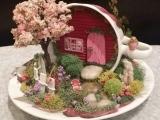 Karen Rossi Studios Oct 27 Teacup Fairy Gardens - R7 Winsted