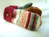 Repurposed Sweater Mittens