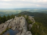 Hiking at Maine Audubon's Borestone Mountain Sanctuary