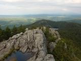 Hiking at Maine Audubon's Borestone Mountain Sanctuary