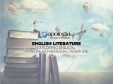 01 ENGLISH LITERATURE: EXPLORING BIBLICAL PRINCIPLES THROUGH LITERATURE/LIVE