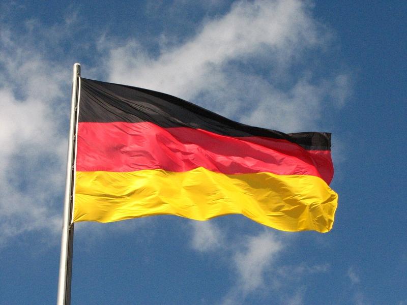 Original source: https://upload.wikimedia.org/wikipedia/commons/thumb/5/53/German_flag_%287664376100%29.jpg/1280px-German_flag_%287664376100%29.jpg