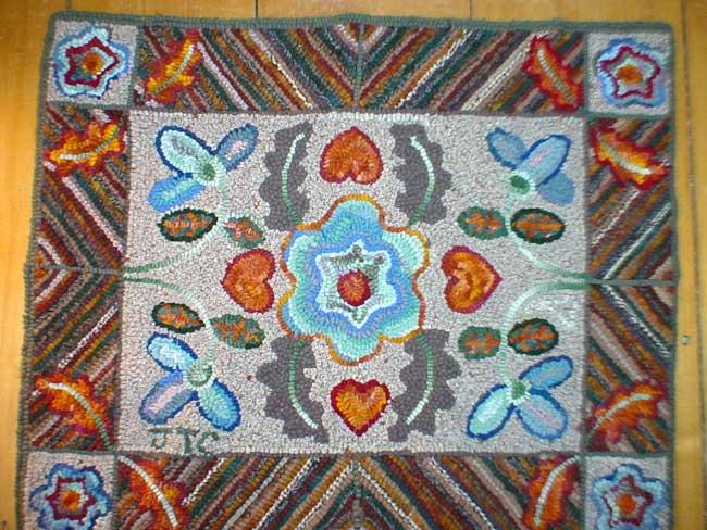 Folk Art Rug Hooking
