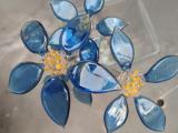 Sculptural Glass Flowers