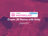 [In-Person] Create 3D Games with Unity (Teen Masterclass)