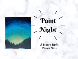 Paint Night- A Starry Sight