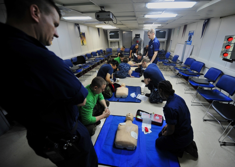 Original source: https://upload.wikimedia.org/wikipedia/commons/6/69/US_Navy_111026-N-EZ913-095_Sailors_learn_first_aid_at_a_CPR_class_aboard_the_Nimitz-class_aircraft_carrier_USS_John_C._Stennis_%28CVN_74%29.jpg