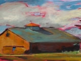 Paint a Meadow and Barn Step-by-Step