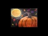"""Masterpieces and Messages """"Moonlit Pumpkin Patch"""" Fall 2019"""