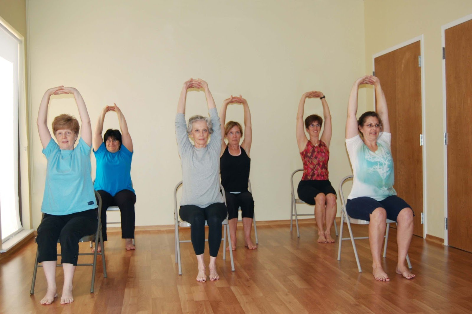 Seated Yoga and Creative Movement 3/6