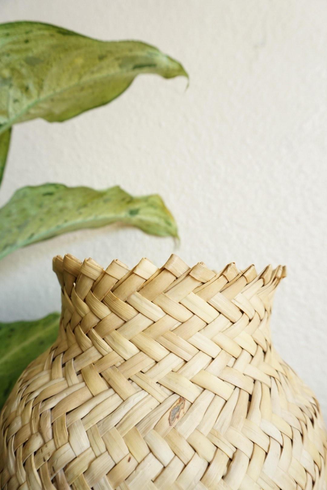 Bottle Vase Basket - NEW!