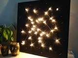 Custom  Lighted  Constellation Canvas