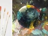 Beginner's Acrylic Painting Workshop (Online Class)