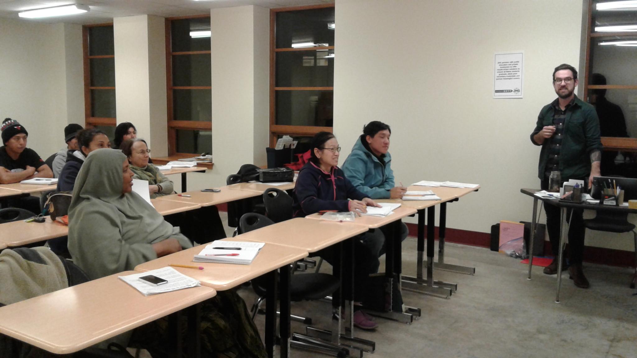 English Language Learners Beginner - Spring 2019