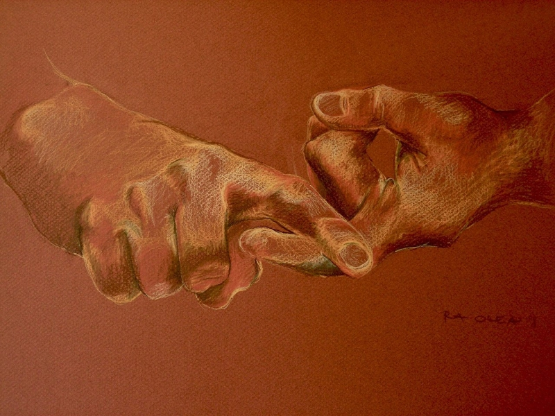 Original source: https://upload.wikimedia.org/wikipedia/commons/thumb/8/8a/Drawing_%28sign_language_friend%29%2C_2008.jpg/1280px-Drawing_%28sign_language_friend%29%2C_2008.jpg