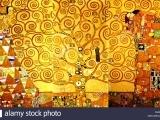 ART104 - Gustav Klimt Inspired Tree of Life Mixed Media Painting.(Ages 7-8)