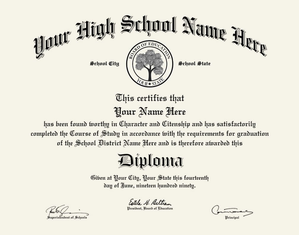 High School Diploma Courses
