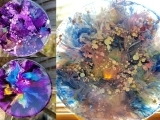 3D Resin & Ink Suncatchers
