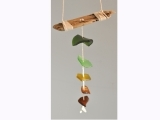 Seaglass Hanging Sculpture
