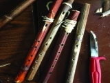 Make a Knotweed Flute