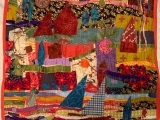 Design a Fabulous Fabric Wall Hanging