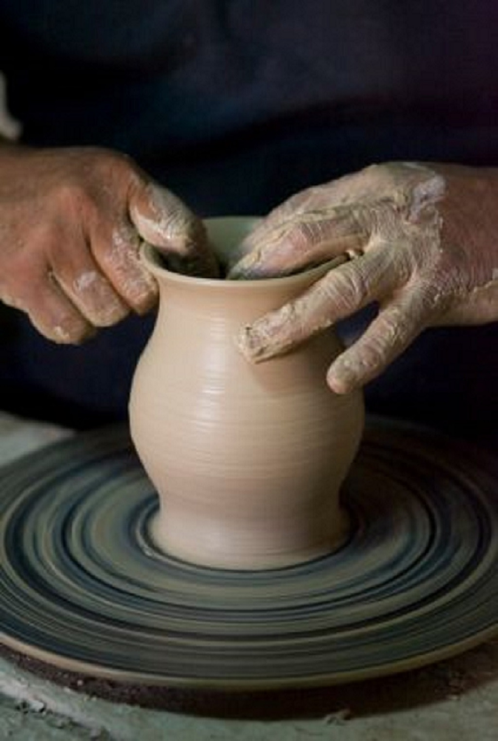 Try Out the Potter's Wheel