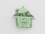 Virtual Money Origami: Fold a House
