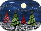 Pottery Paint Night - Christmas Tree
