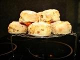 Vegan Test Kitchen: Glazed Cranberry Orange Scones