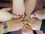 Sterling Silver Bezel Ring