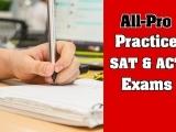 Free Simulated SAT & ACT Exams!