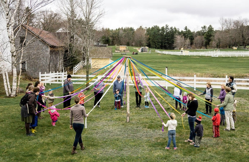 Damariscove's Maypole Dance: America's First Maypole and How We Differed  from Puritan Massachusetts.