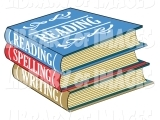 Original source: http://weclipart.com/gimg/50384EFD558EC9E0/clip-art-of-a-stack-of-colorful-reading-spelling-and-writing-school-books-textbooks-by-andy-nortnik-528.jpg