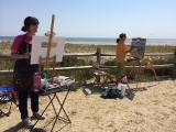 Plein Air Painting In Cape May (OUTDOOR)  PT 605CM